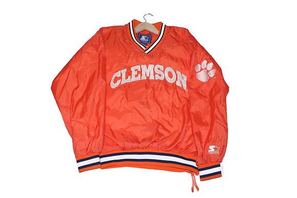 Clemson Starter Coach's Pullover