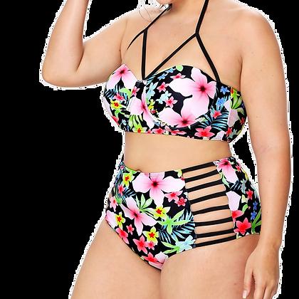 Floral Breeze Bikini Set