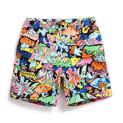 Chaotic Swim Trunks