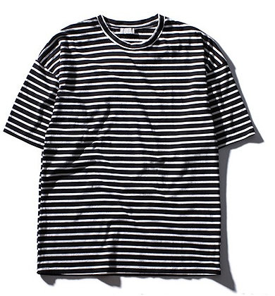 Oversized Striped Tee