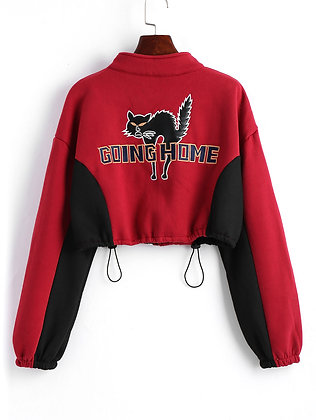 Going Home Cropped Pullover