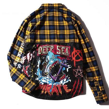 JAWS Deep Sea Flannel