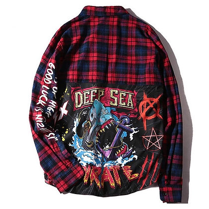 JAWS Deep Sea Flannel