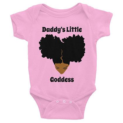 Caramel Daddys's Little Goddess Infant Bodysuit