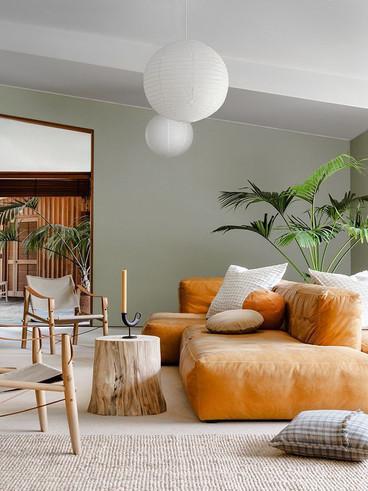 A Stunning Mid-Century Modern Living Roo