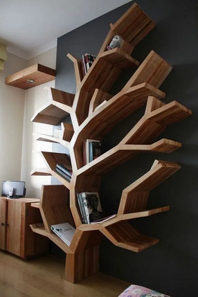Shelves Idea Book Luxerior