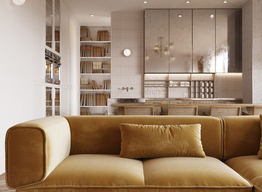 Follow these Golden Interior Design Rules to Maximize your Small Space