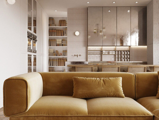 Follow these Golden Interior Design Rules to Maximize your Small Interior Space