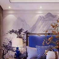 Bedroom Mountain Wall Art