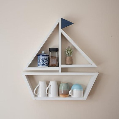 Wall Shelf with Mug
