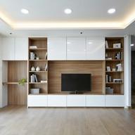 TV Unit Design for Hall