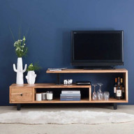 TV unit on Accent Wall