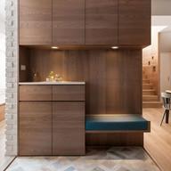 Stylish Entry Storage