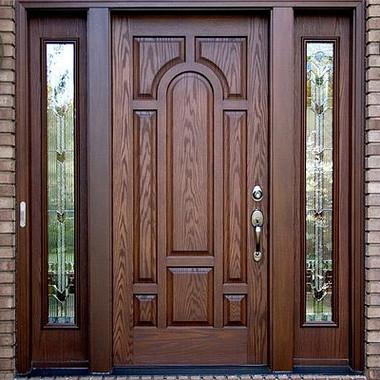 Main Door with Glass