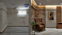 Before & After Interior Transformation of a 2BHK Apartment at Vile Parle, Mumbai