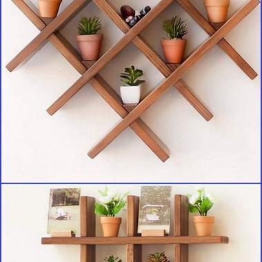 Wall Shelf Rack