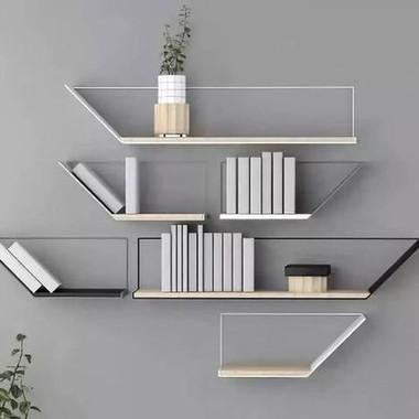 Wall Shelf Design for Living Room