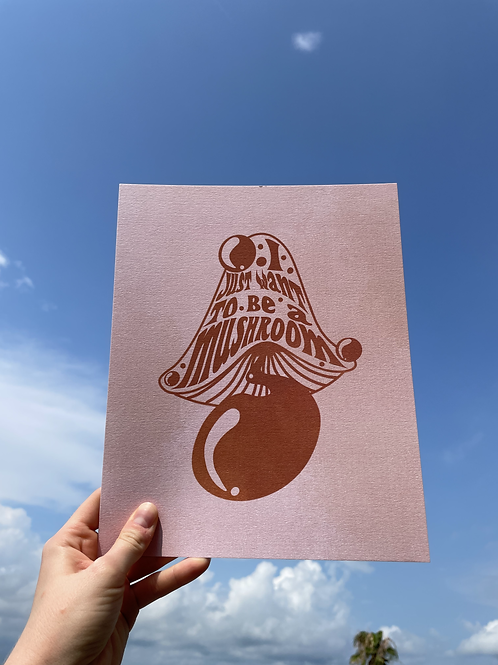 Beshroomed Print
