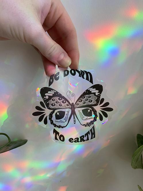 Butterfly Suncatcher Sticker