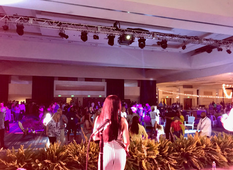 Another fun night of corporate entertainment with Paradigm Party Band!