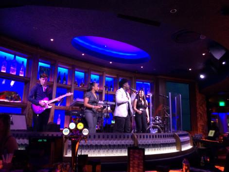 Paradigm! Ready to rock Blue Martini Tampa!