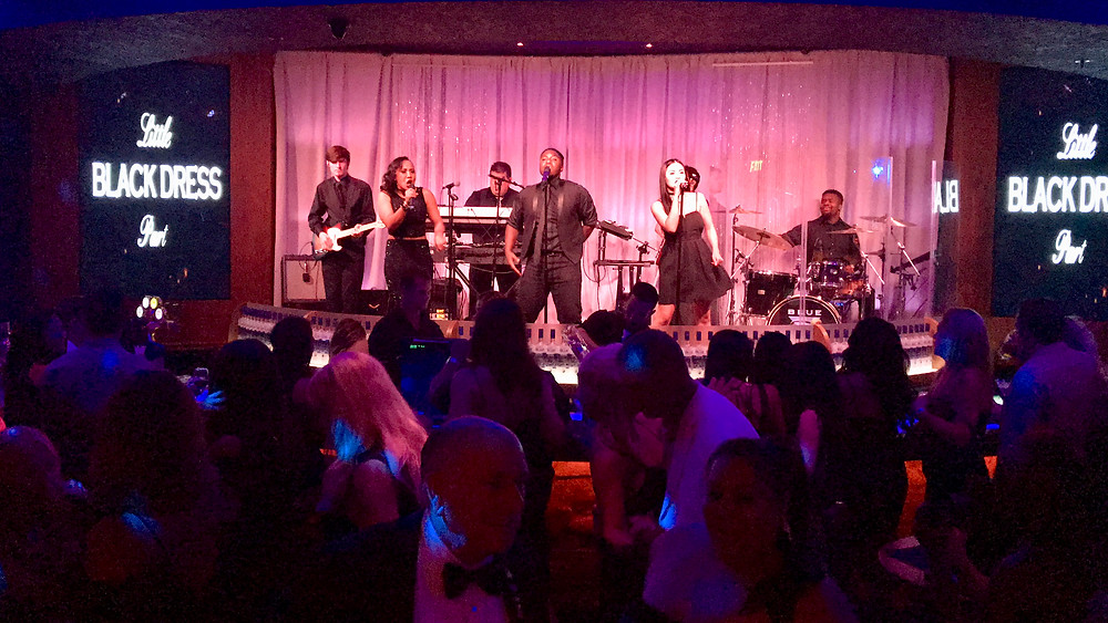Paradigm Party Band - Little Black Dress Event at Blue Martini