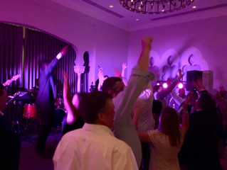 A Fabulous St. Petersburg Wedding with our Exclusive Paradigm Party Band!