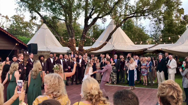 Celebration Of Weddings Through The Years with Paradigm Party Band - Part 2.  First Dances!
