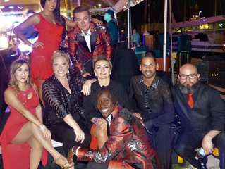 Latin Ambition Performs at Private Yacht Marina Party