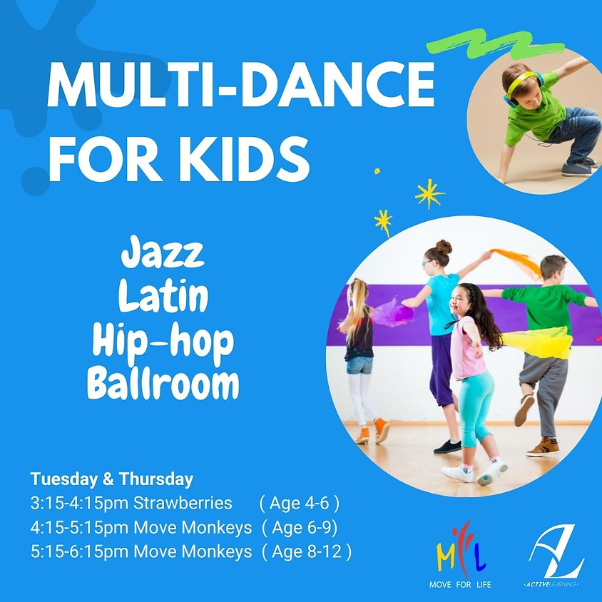 Multi-Dance Class with MOVE FOR LIFE