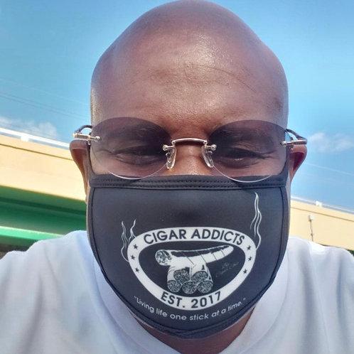 Cigar Addicts Face Mask