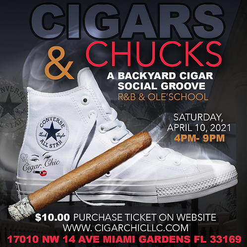 Cigars & Chucks Ticket