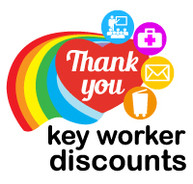 key worker discounts at 10%