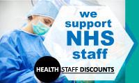 NHS badge at 10% discount