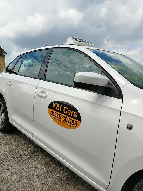 K&I Cars Logo Taxi Warminster
