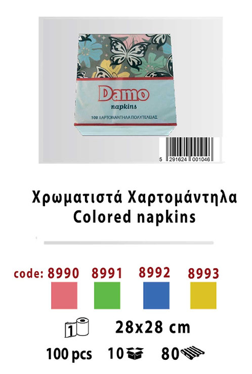 Colored Napkins 28 x 28
