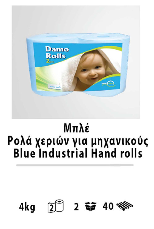 Blue Industrial Hand rolls