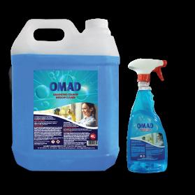OMAD window cleaner 4L, 750ml