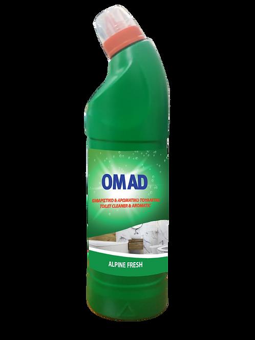 OMAD Toilet Cleaner       Alpine Fresh 750 ml