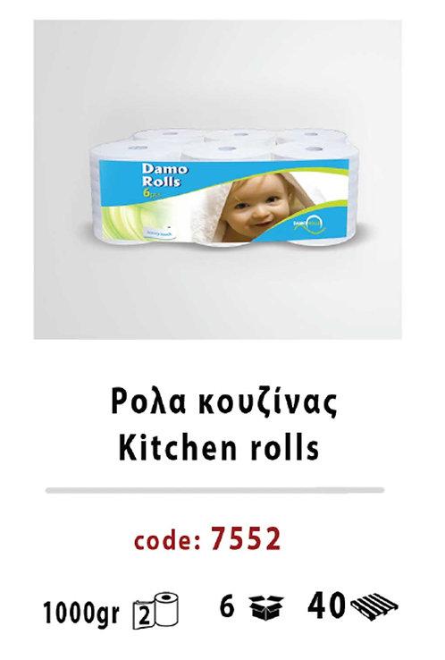 Kitchen rolls 7552