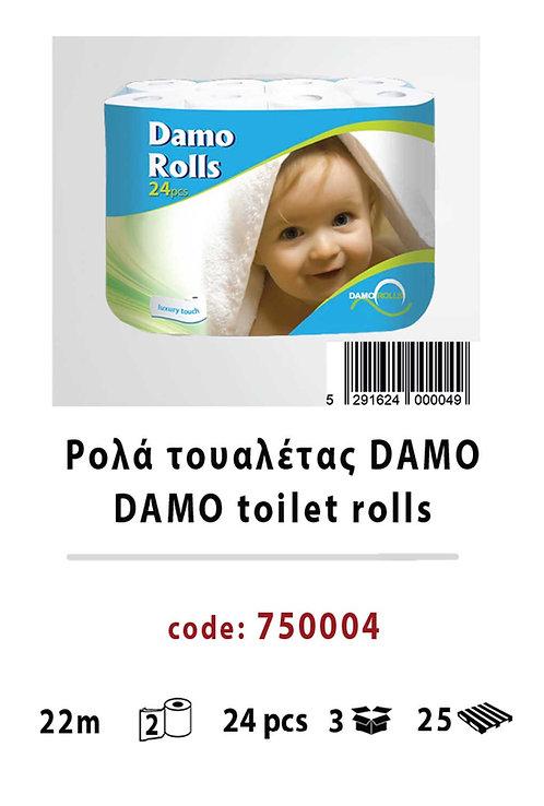 Damo toilet rolls 750004
