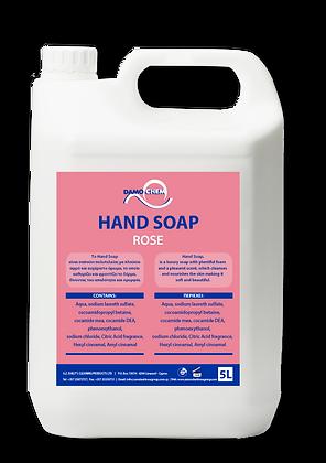 HAND SOAP ROSE 5L