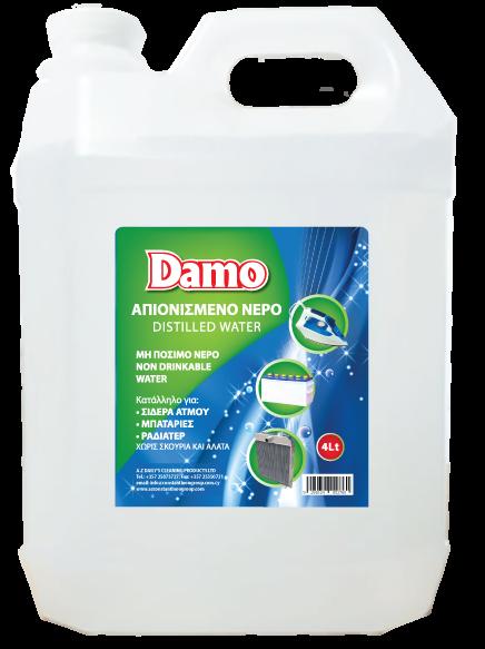 DAMO Distilled Water
