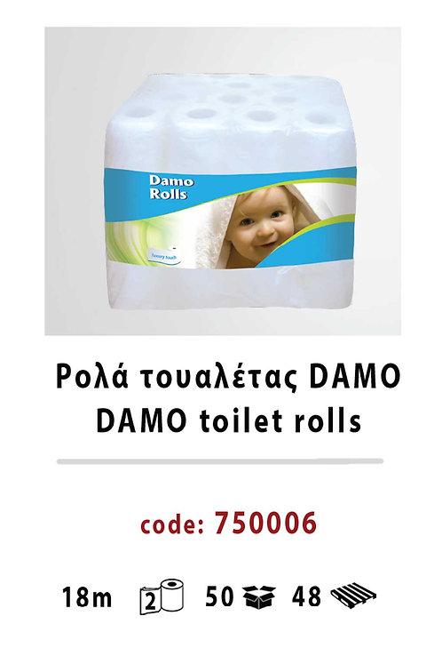 Damo toilet rolls 750006