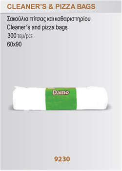 cleaners and pizza bags