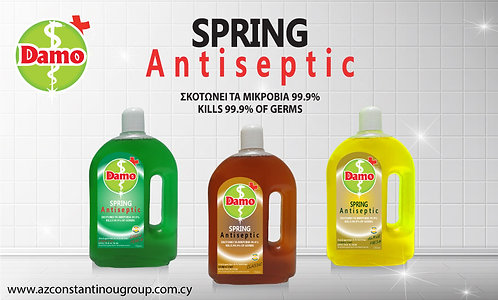 SPRING ANTISEPTIC Universal disinfectant, with aroma