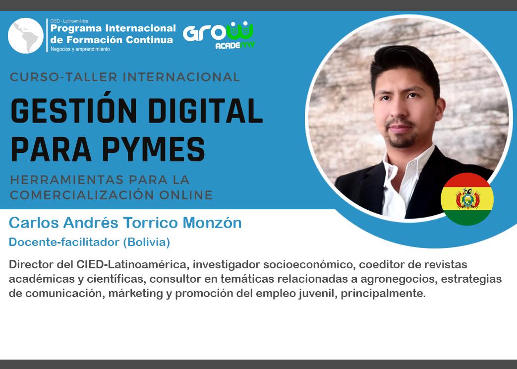 Carlos Andrés Torrico Monzón