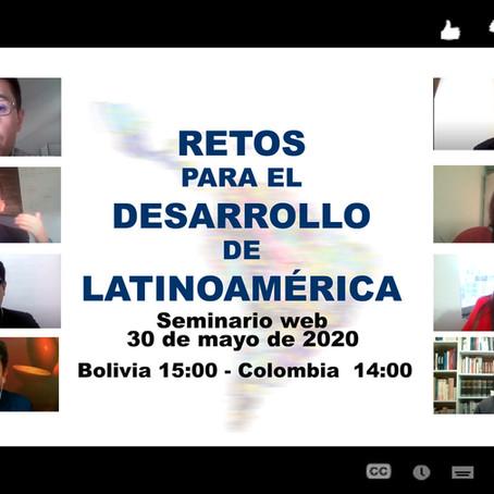 Tres mil jóvenes debaten sobre el desarrollo de América Latina