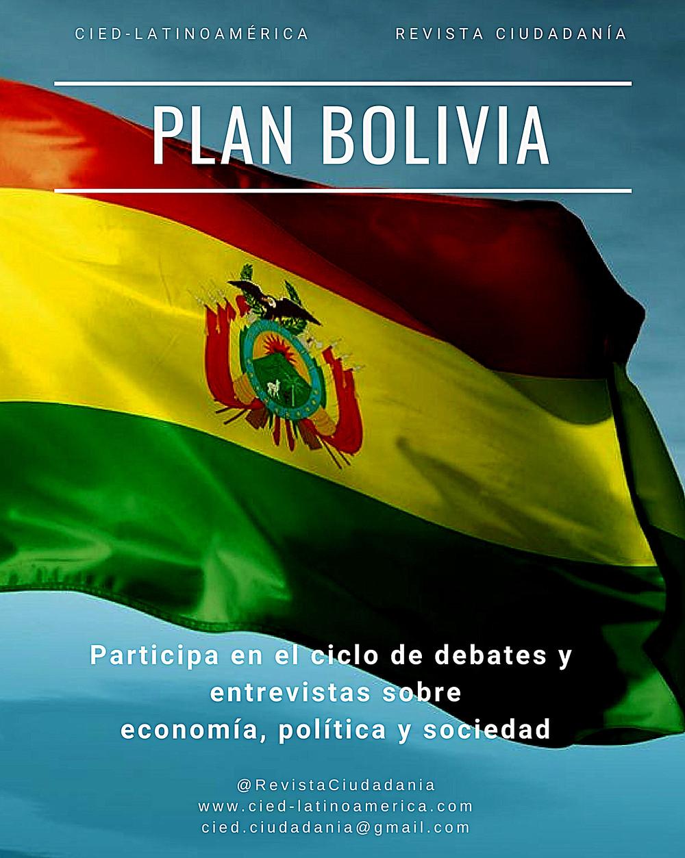 """""""Plan Boivia"""", afiche promocional"""