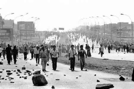 Memoria del paro cívico colombiano I Fuente: Semanario Voz